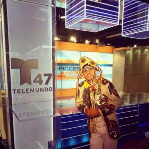 del Feliz na TV Telemundo