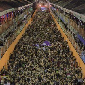 Bloco Vumbora! lota Cidade Fortal em plena quinta - Foto Heber Barros