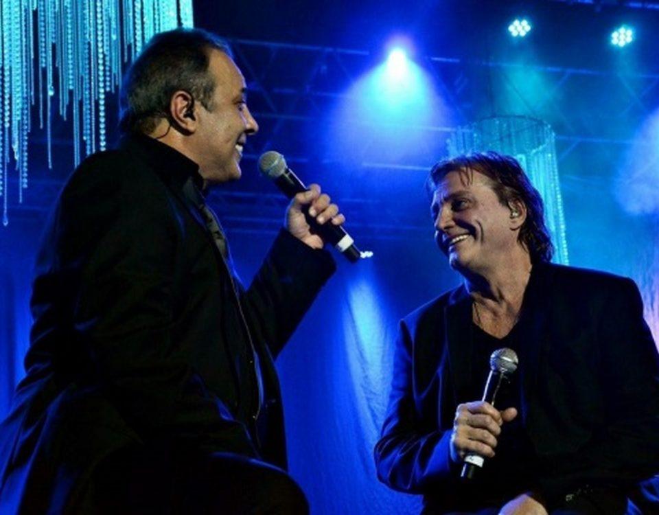 José Augusto e Fábio Júnior. Foto: Divulgação