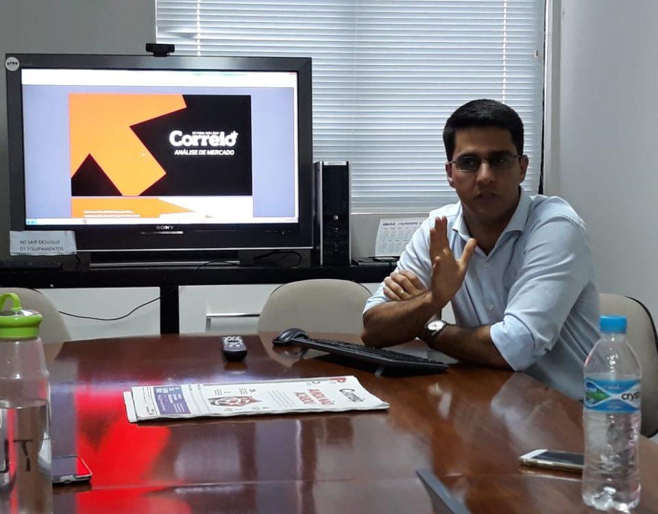 Fábio Góis, gerente de marketing, mídias digitais e projetos do CORREIO