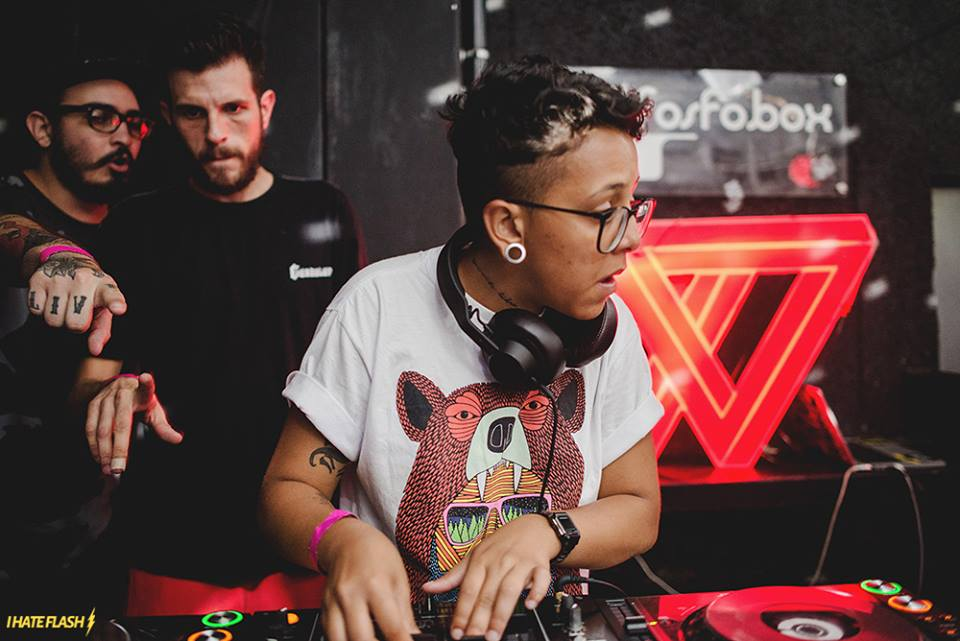 DJ Bad$ista faz a festa na Ams