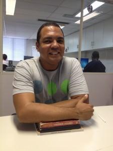Tedson Souza pesquisou interações em banheiros