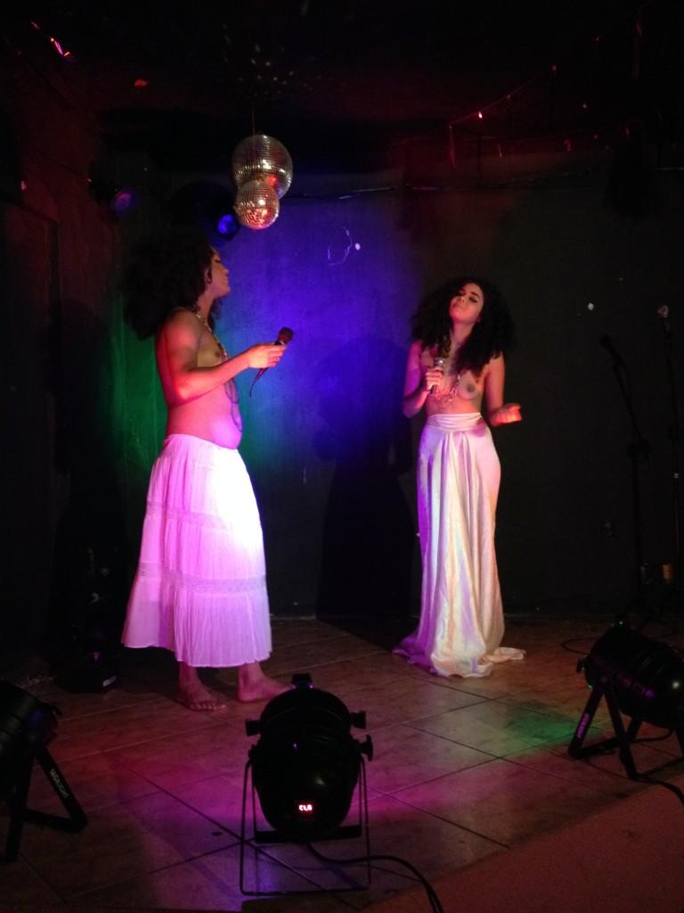 Eyshilla e Nágila arrasaram no show