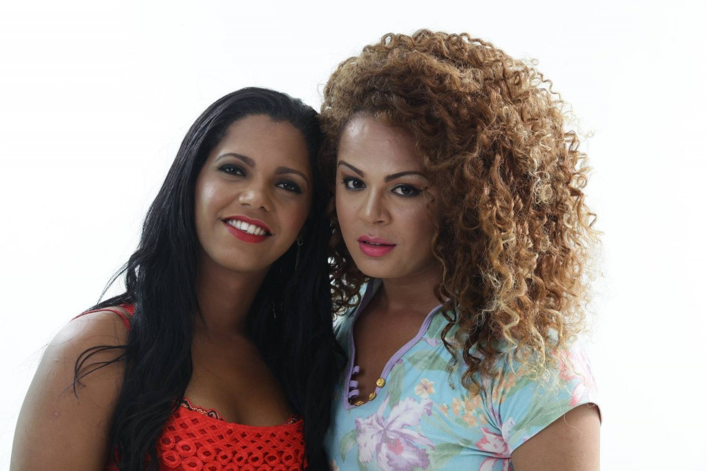 Bruna e Ariane: luta contra transfobia Foto: Sérgio Figueiredo