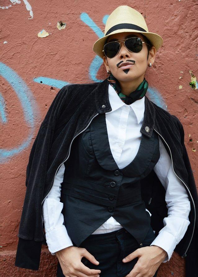 Ingridy como Caio Foto: Ricardo Santiago