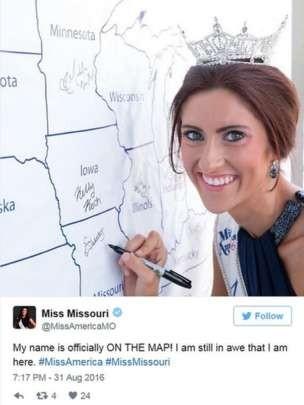 Miss EUA_Reproducao Twitter