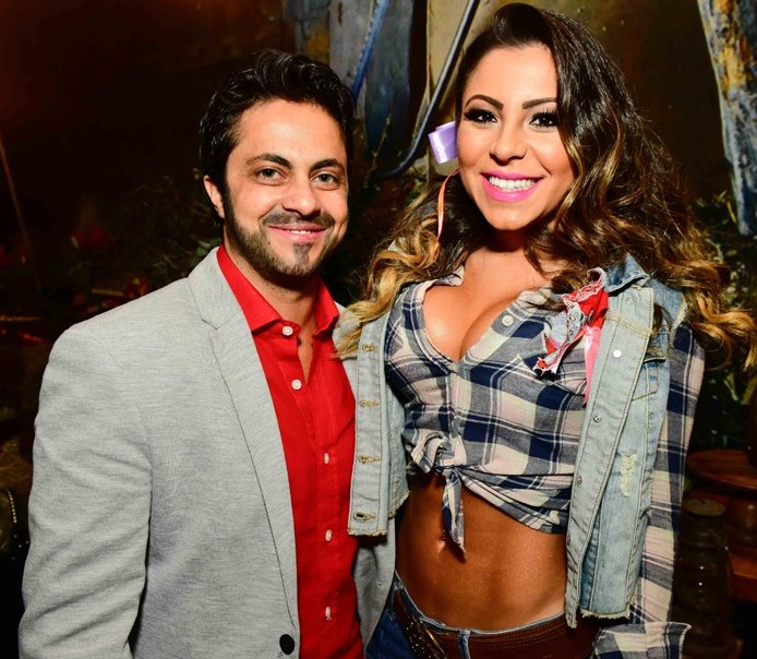 Thammy Miranda e Andressa Ferreira Foto: Reprodução