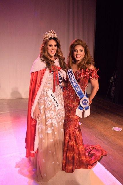 DesiRée recebeu o título da Miss 2016, Petra Perón