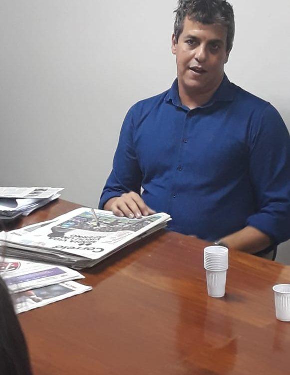 Divo Araújo, editor de fechamento do CORREIO