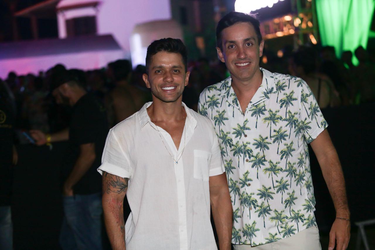 José Augusto Vasconcelos e André Gagliano - Foto Sercio Freitas
